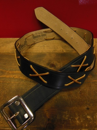 RAWHIDE Various studded Leather work 2/22/2019 _c0187684_10472572.jpg