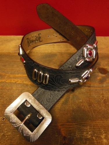 RAWHIDE Various studded Leather work 2/22/2019 _c0187684_10482901.jpg