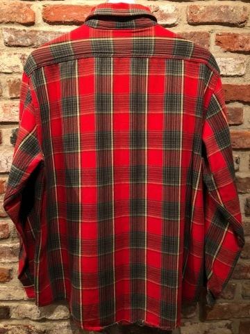 """Late 1960s \"""" KING KOLE \"""" 100% cotton Vintage HEAVY-FLANNEL SHIRTS ※ OLD コンチョ 新入荷 致します!_d0172088_17501749.jpg"""
