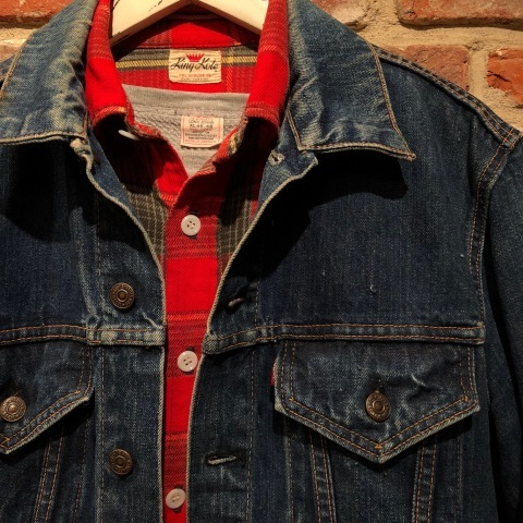 """Late 1960s \"""" KING KOLE \"""" 100% cotton Vintage HEAVY-FLANNEL SHIRTS ※ OLD コンチョ 新入荷 致します!_d0172088_20031048.jpg"""