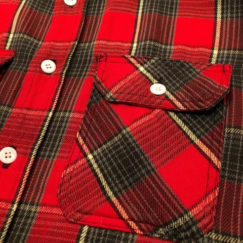 """Late 1960s \"""" KING KOLE \"""" 100% cotton Vintage HEAVY-FLANNEL SHIRTS ※ OLD コンチョ 新入荷 致します!_d0172088_21354854.jpg"""