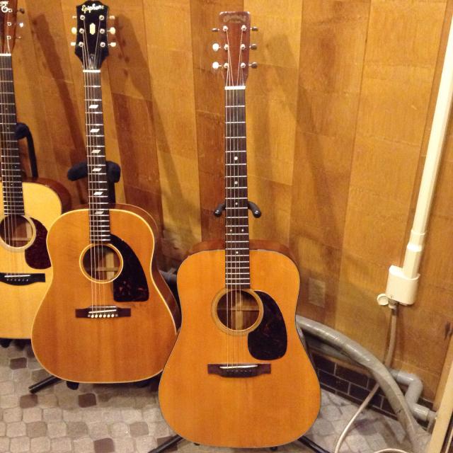 Martin D-18 1960 6本の弦相手だけでも大変なのにギターが増えると、やっぱり楽しい。_a0334793_21334843.jpg