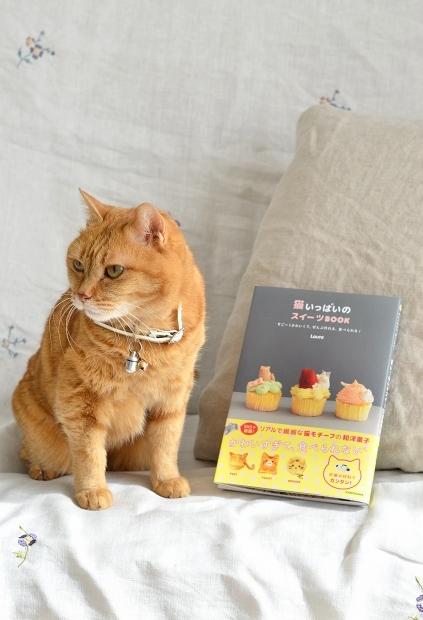 Lauraの「猫いっぱいのスイーツBOOK」、本日猫の日に発売です!_d0025294_16541896.jpg