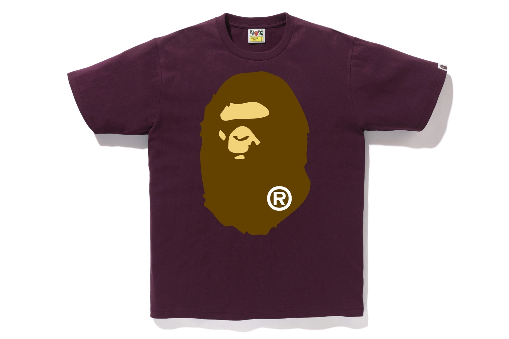 BIG APE HEAD TEE_a0174495_13085366.jpg