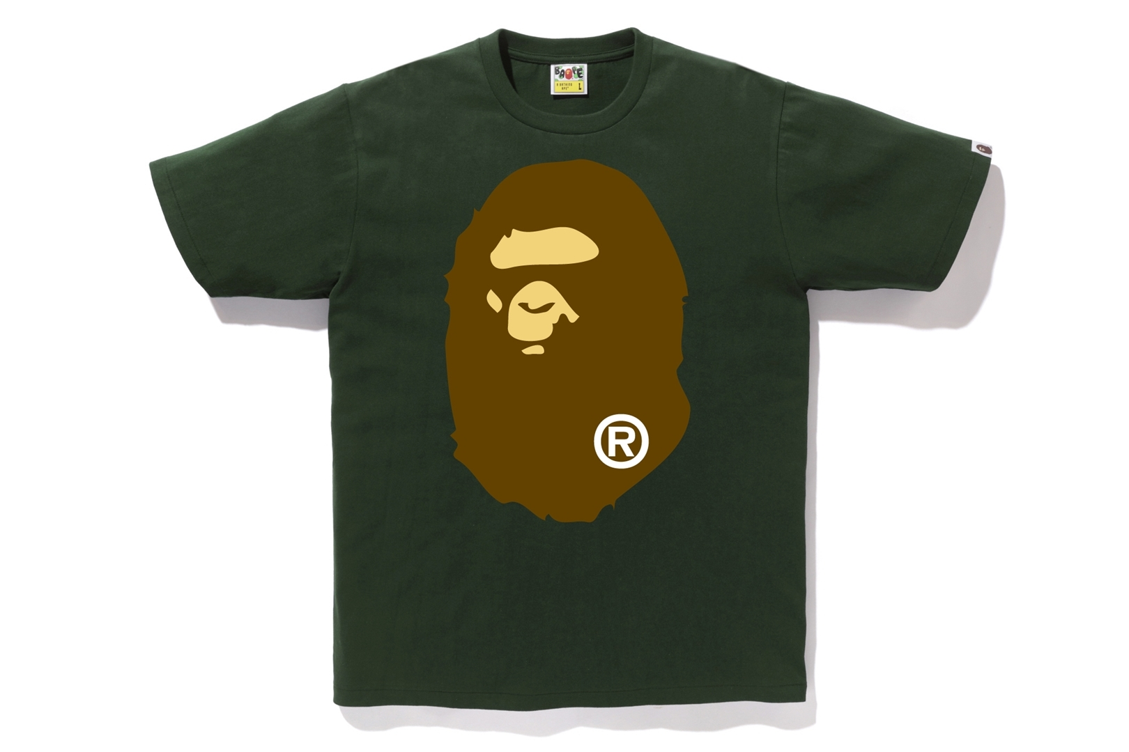 BIG APE HEAD TEE_a0174495_13095344.jpg