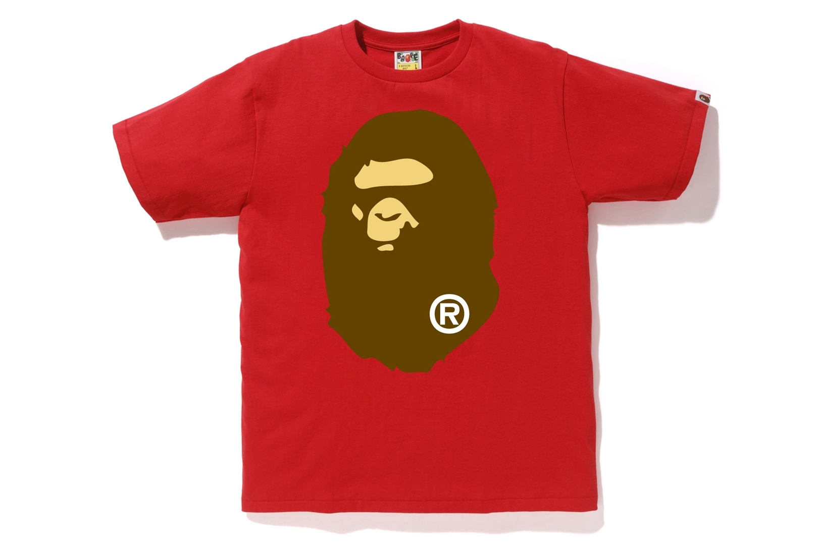 BIG APE HEAD TEE_a0174495_13104876.jpg
