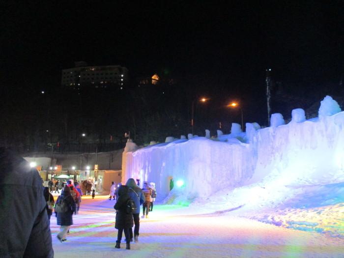 2月23日(土)・・・層雲峡の氷瀑祭り_f0202703_23425337.jpg