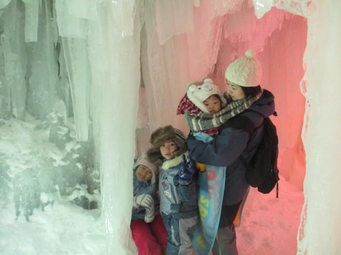 2月23日(土)・・・層雲峡の氷瀑祭り_f0202703_23431868.jpg