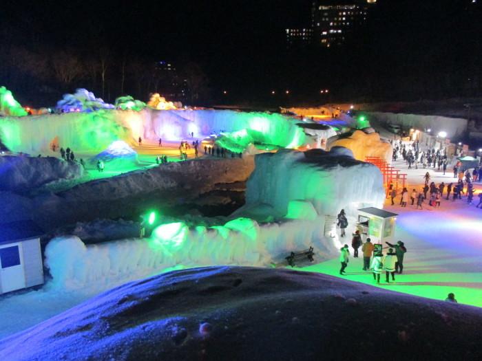 2月23日(土)・・・層雲峡の氷瀑祭り_f0202703_23434837.jpg