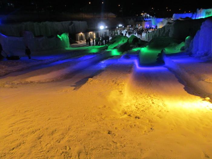 2月23日(土)・・・層雲峡の氷瀑祭り_f0202703_23463053.jpg