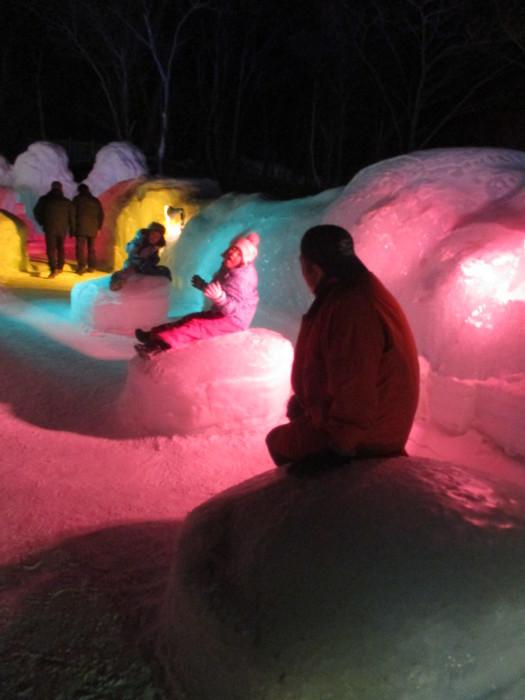 2月23日(土)・・・層雲峡の氷瀑祭り_f0202703_23501336.jpg