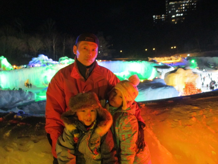 2月23日(土)・・・層雲峡の氷瀑祭り_f0202703_23503554.jpg