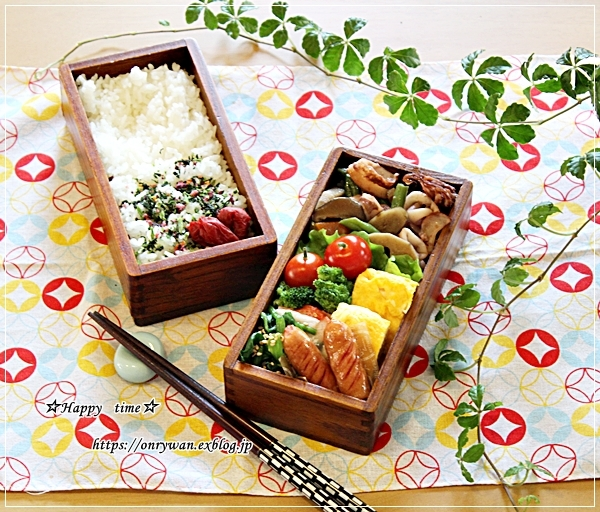 イカと根菜の煮物弁当と今夜のおうち呑み♪_f0348032_17522584.jpg