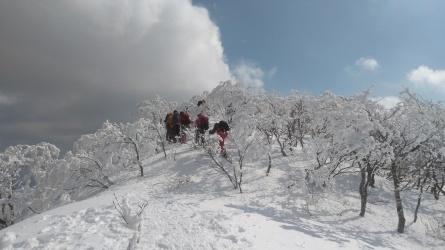 「むさしの山荘」のスノーシュウツアー。_c0160368_19251319.jpg