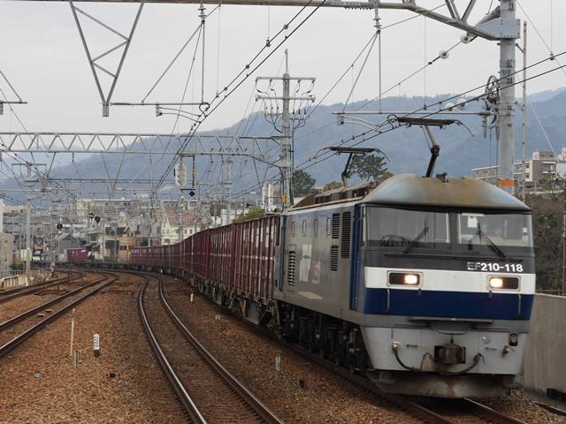 藤田八束の鉄道写真@サントリー山崎工場前で鉄道写真を撮る、山崎カーブは絶景の鉄道写真スポット_d0181492_21563314.jpg