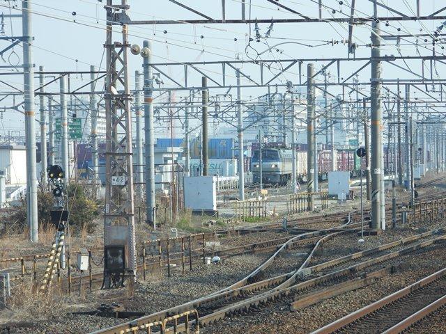 藤田八束の鉄道写真@貨物列車を激写そしてトワイライトを激写、特急サンダーバード・特急はるかのキティちゃん列車_d0181492_21574911.jpg