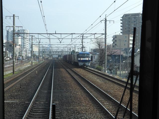 藤田八束の鉄道写真@貨物列車を激写そしてトワイライトを激写、特急サンダーバード・特急はるかのキティちゃん列車_d0181492_21580431.jpg