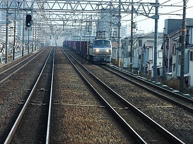 藤田八束の鉄道写真@貨物列車を激写そしてトワイライトを激写、特急サンダーバード・特急はるかのキティちゃん列車_d0181492_21582124.jpg