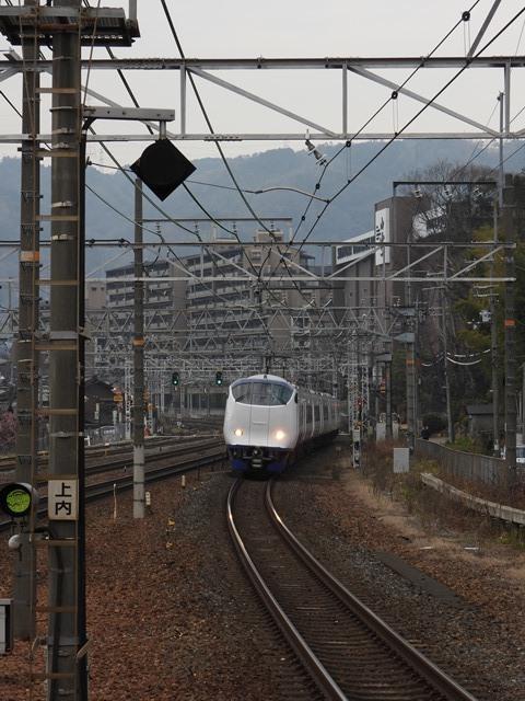 藤田八束の鉄道写真@サントリー山崎工場前で鉄道写真を撮る、山崎カーブは絶景の鉄道写真スポット_d0181492_22001873.jpg