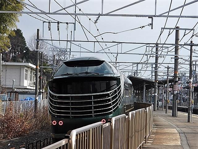 藤田八束の鉄道写真@山崎カーブからのトワイライトエキスプレス「瑞風」を激写、特急「はるか」はキティちゃんラップ_d0181492_22062866.jpg