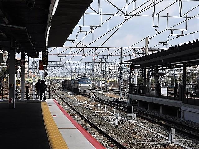 藤田八束の鉄道写真@貨物列車を激写そしてトワイライトを激写、特急サンダーバード・特急はるかのキティちゃん列車_d0181492_22112468.jpg