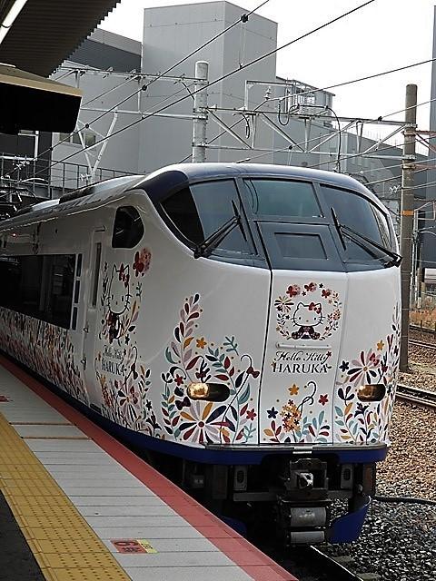 藤田八束の鉄道写真@山崎カーブからのトワイライトエキスプレス「瑞風」を激写、特急「はるか」はキティちゃんラップ_d0181492_22121594.jpg