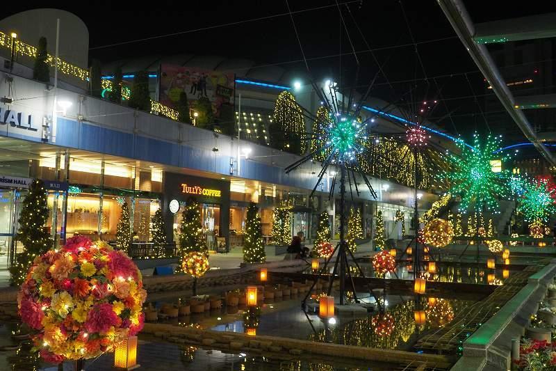 東京ドームシティのイルミネーション_e0348392_11022376.jpg