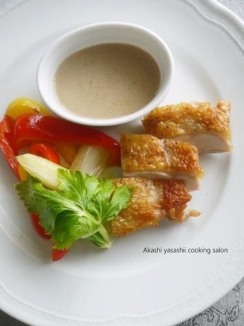 鶏肉料理6品〜レッスン料理より_f0361692_12053395.jpg