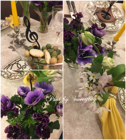 春のフラワーレッスンとテーブル実習_d0049817_14425156.jpg