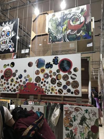 「香取慎吾 NAKAMA des ARTS」展 ☆ カルーゼル デュ ルーブル シャルル5世ホール_e0303431_15553852.jpg