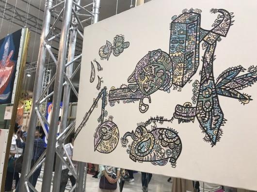 「香取慎吾 NAKAMA des ARTS」展 ☆ カルーゼル デュ ルーブル シャルル5世ホール_e0303431_15570598.jpg