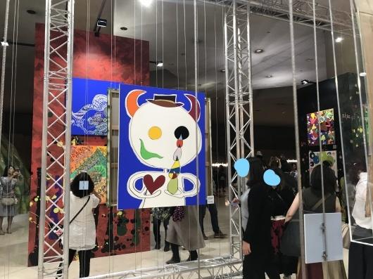 「香取慎吾 NAKAMA des ARTS」展 ☆ カルーゼル デュ ルーブル シャルル5世ホール_e0303431_15571879.jpg