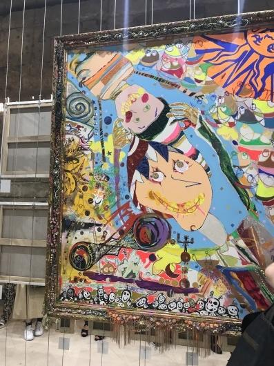 「香取慎吾 NAKAMA des ARTS」展 ☆ カルーゼル デュ ルーブル シャルル5世ホール_e0303431_16014018.jpg