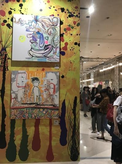 「香取慎吾 NAKAMA des ARTS」展 ☆ カルーゼル デュ ルーブル シャルル5世ホール_e0303431_16021055.jpg