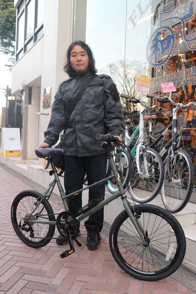 2月24日 渋谷 原宿 の自転車屋 FLAME bike前です_e0188759_12012790.jpg