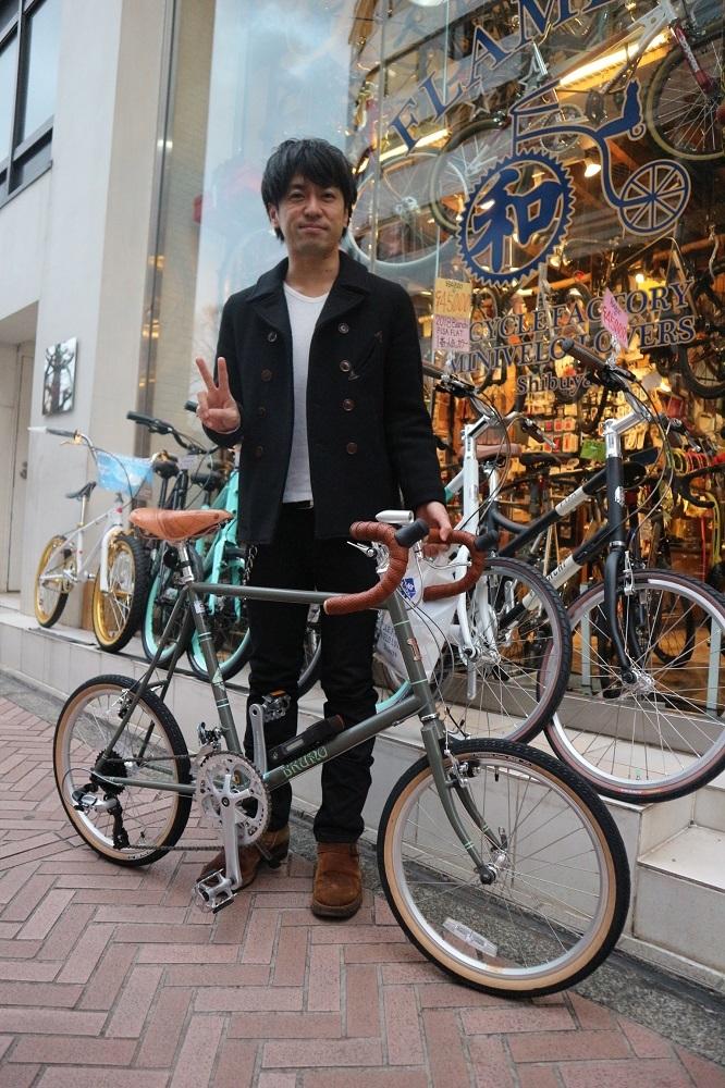 2月24日 渋谷 原宿 の自転車屋 FLAME bike前です_e0188759_12013568.jpg