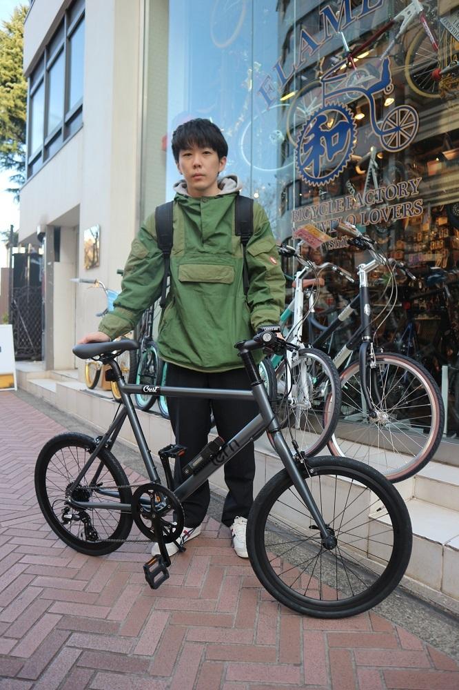 2月24日 渋谷 原宿 の自転車屋 FLAME bike前です_e0188759_12014328.jpg