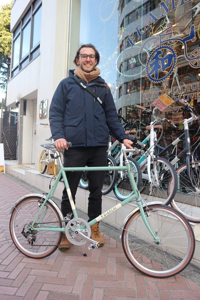 2月24日 渋谷 原宿 の自転車屋 FLAME bike前です_e0188759_12014833.jpg