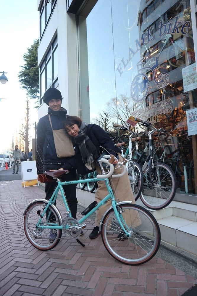 2月24日 渋谷 原宿 の自転車屋 FLAME bike前です_e0188759_12015059.jpg