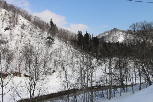 恋人の聖地・白川ダム湖畔の十四郷橋からの景色、2019.2.23_c0075701_18380861.jpg