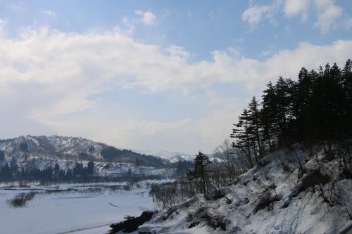 恋人の聖地・白川ダム湖畔の十四郷橋からの景色、2019.2.23_c0075701_18381277.jpg