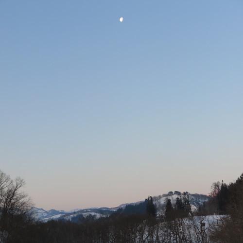 恋人の聖地・白川ダム湖畔の温泉宿・いいで白川荘の客室からの風景、2019.2.24_c0075701_19462941.jpg