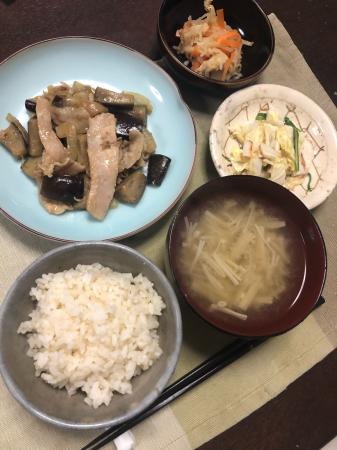 ナスの味噌炒め_d0235108_21072316.jpg