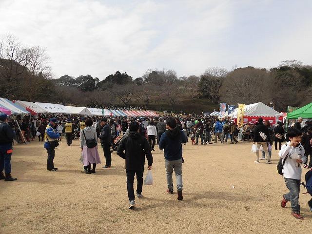 初めて参加し多くの人出に驚いた! 梅が盛りの岩本山公園での「第20回 岩松北地区 梅まつり」_f0141310_07511021.jpg