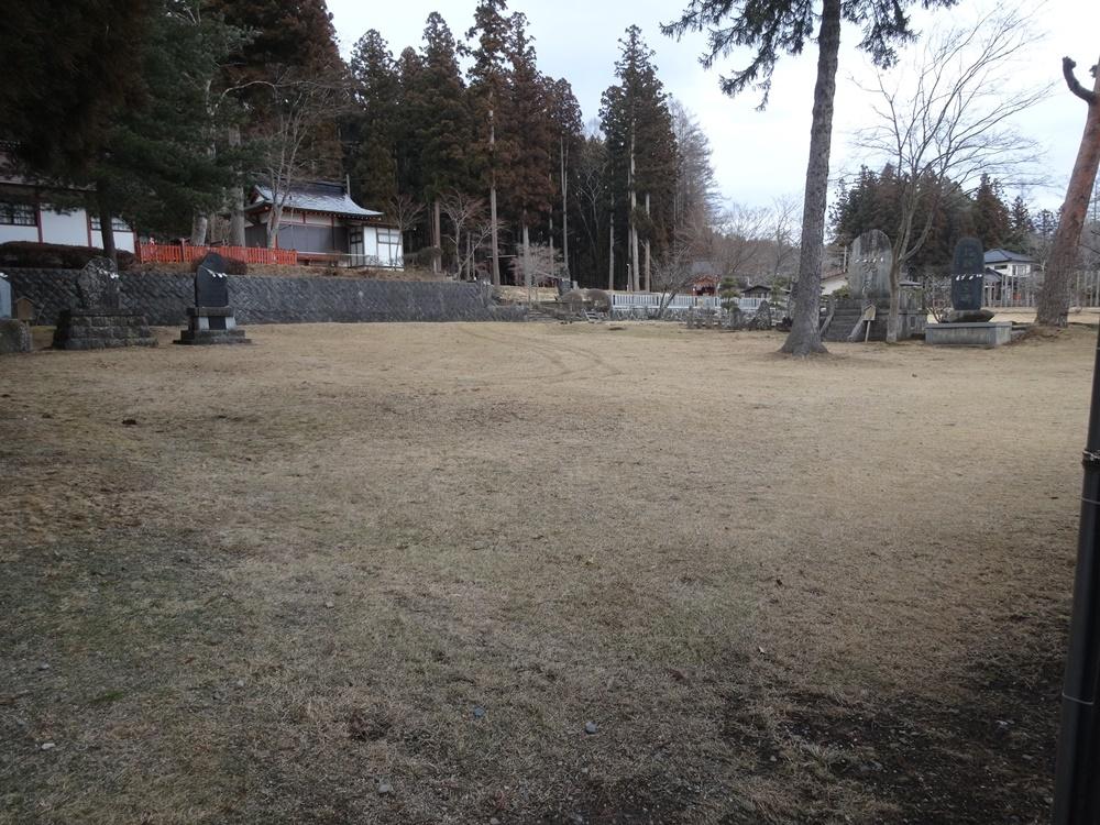 馬場の掃除開始_c0111229_18482812.jpg