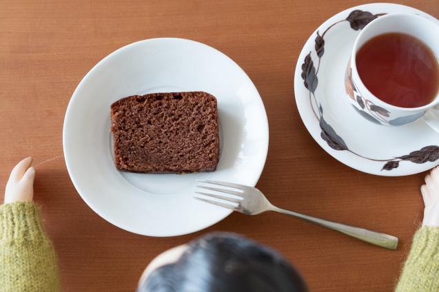 大和屋のブランデーケーキ チョコ味_e0369736_17204877.jpg
