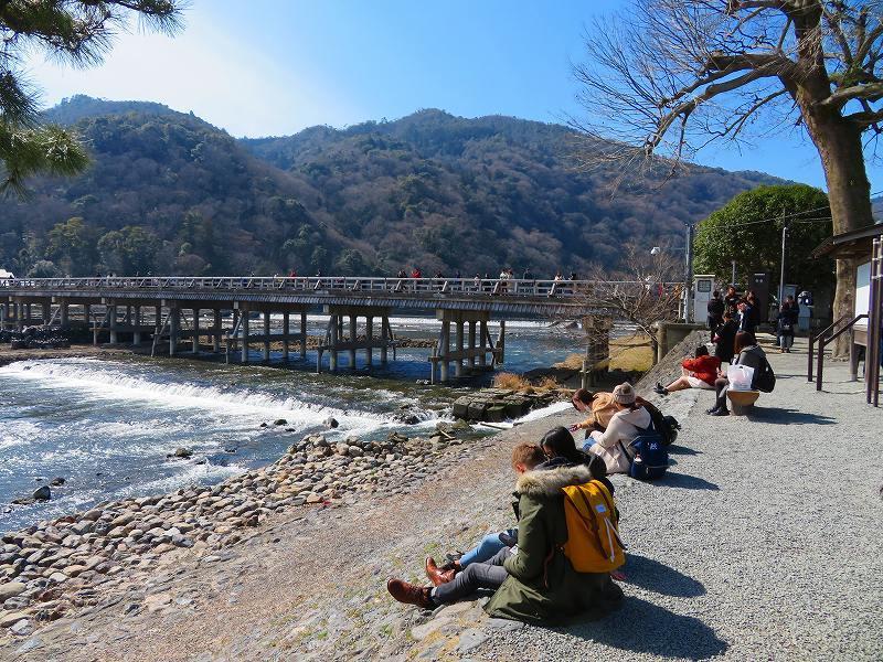 京都「嵐山渡月橋」周辺の散策20190224_e0237645_00535320.jpg