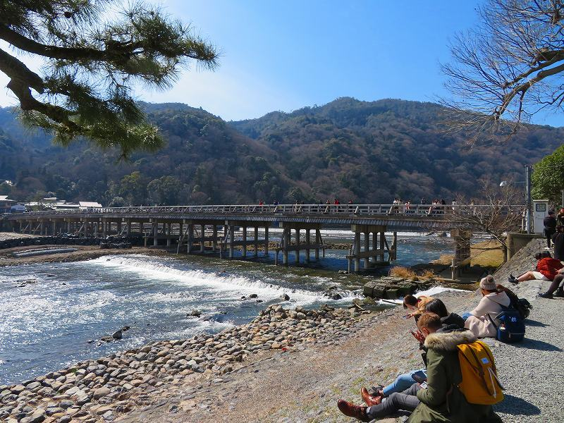 京都「嵐山渡月橋」周辺の散策20190224_e0237645_00535399.jpg