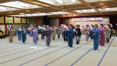 新邦楽舞踊若泉流の新年会に_d0051146_22300445.jpg
