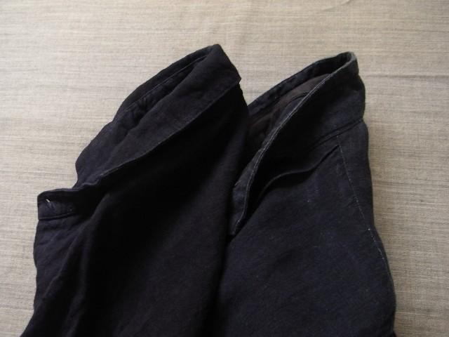 洗いました / classic frenchwork indigoheavylinen shirt_e0130546_19141864.jpg